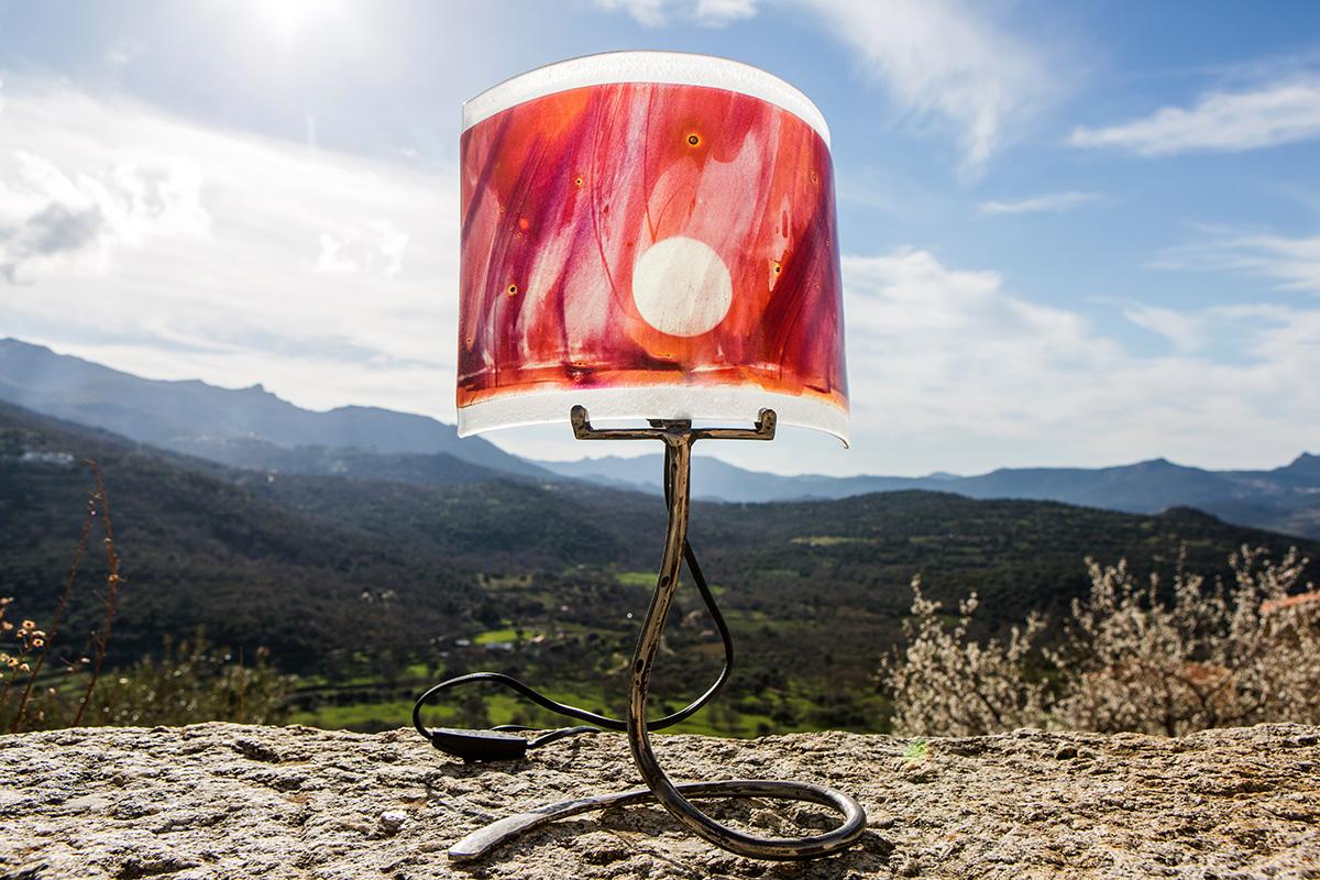Lampes - Atelier Vetrarte - Jocelyne Boyer
