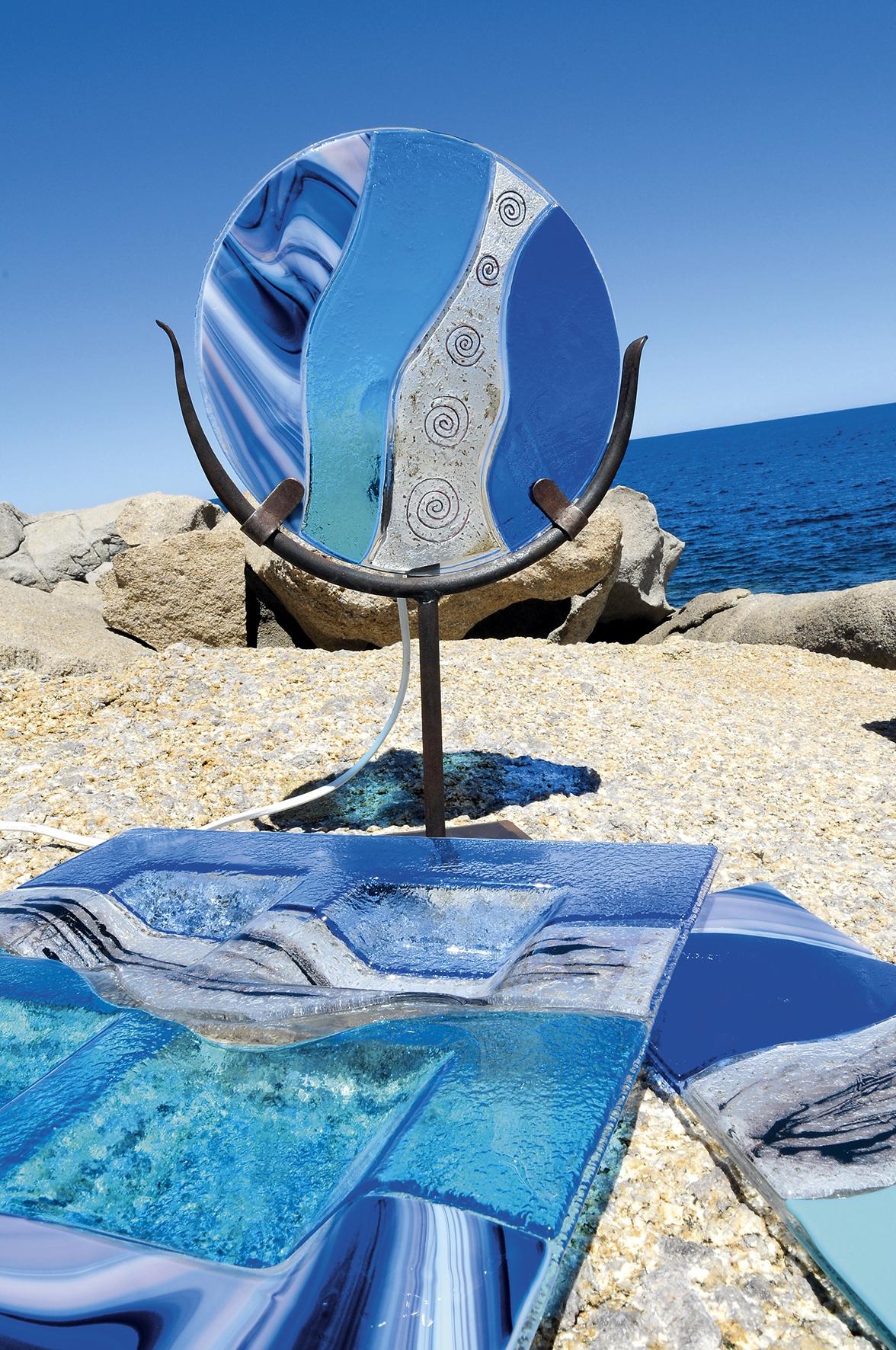 lampe sur le thème de la mer