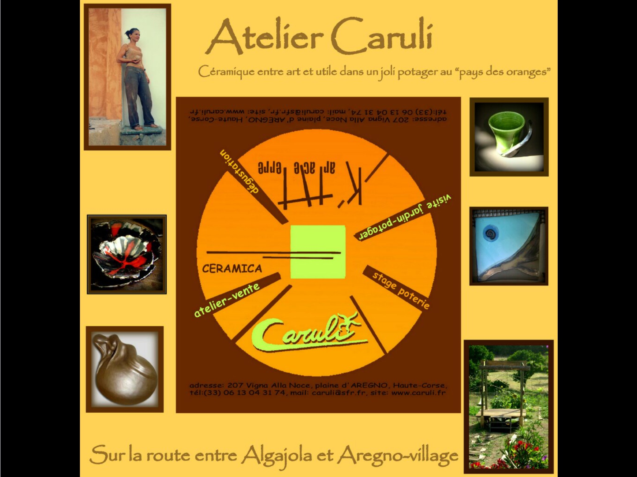 Poterie ceramique ceramica caruli carole fanet Aregno
