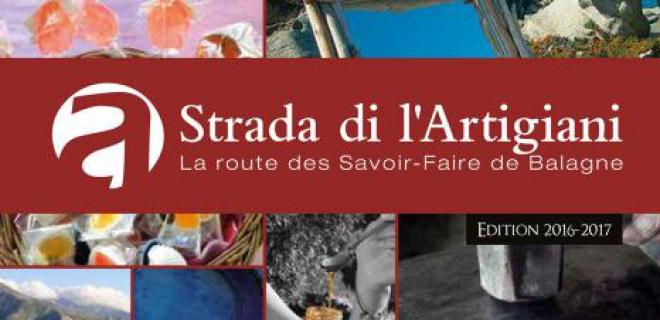Brochure Strada di L'Artigiani 2017