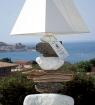 Lampe bois flotté Rocchi Bianchi Corse